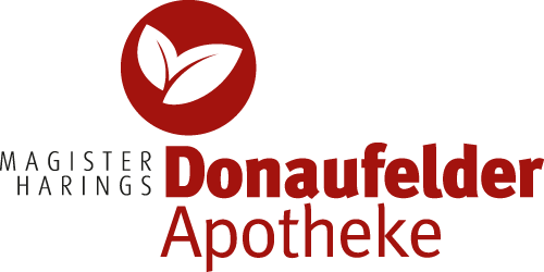 Das Logo der Donaufelder Apotheke